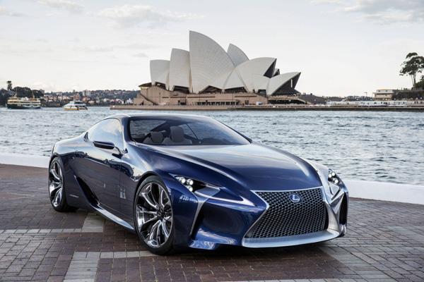 Lexus LF-LC Blue 1