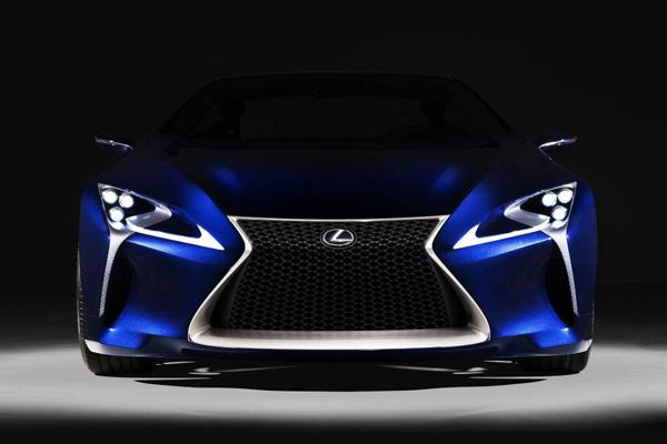 Lexus LF LC Blue 10 Lexus LF LC Blue