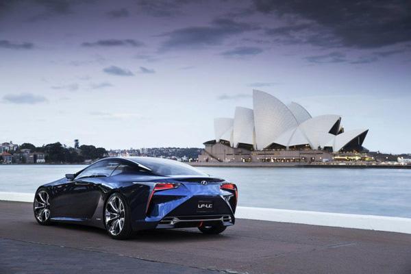 Lexus LF-LC Blue 2