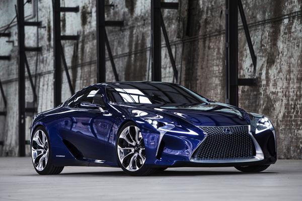 Lexus LF LC Blue 3 Lexus LF LC Blue