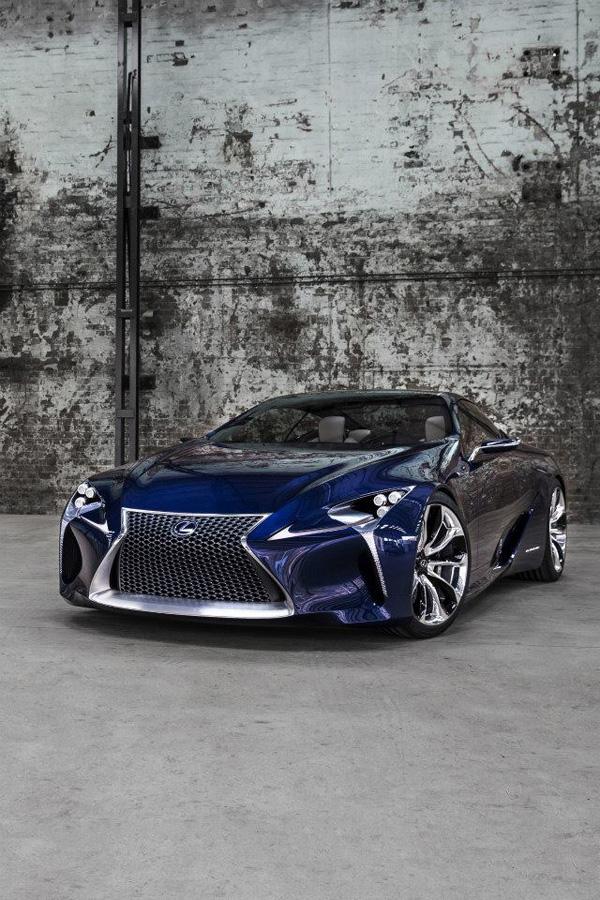 Lexus LF-LC Blue 6