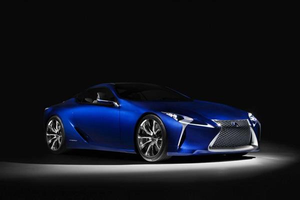 Lexus LF-LC Blue 8