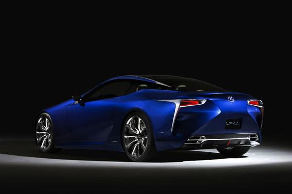 Lexus LF-LC Blue 9