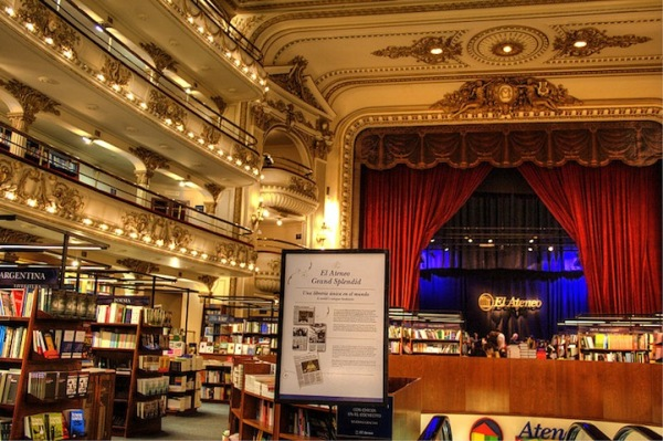 Renovated Theater Book Store in Buenos Aires 4