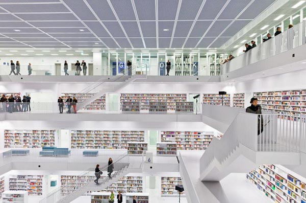 Stuttgart City Library 1