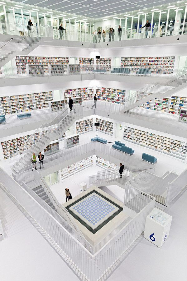 Stuttgart City Library 2