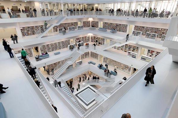 Stuttgart City Library 6