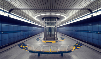 Subway Photography by Nick Frank