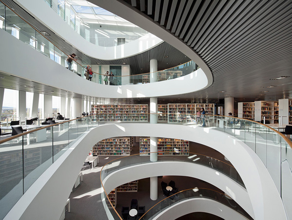University of Aberdeen Library 61 Book Lovers Paradise: 10 Amazing Bookstores Around the World
