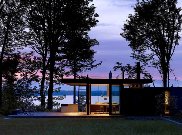 case inlet retreate mw works architecture puget sound washington 1 Case Inlet Retreat by MW/Works Archtiecture