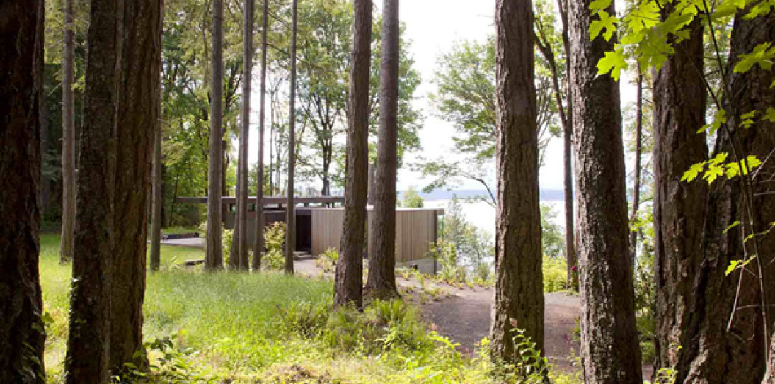 Case Inlet Retreat by MW/Works Archtiecture