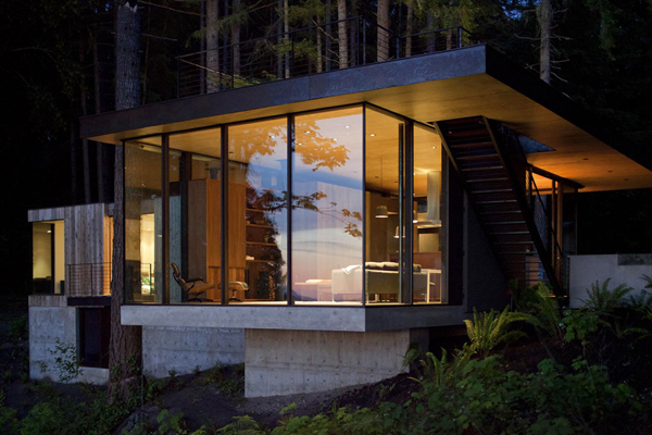 case inlet retreate mw works architecture puget sound washington 2 Case Inlet Retreat by MW/Works Archtiecture