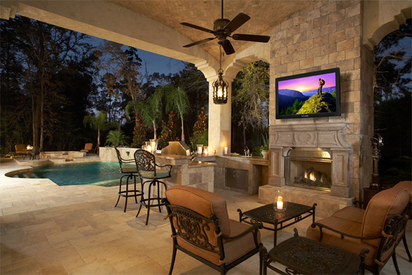 Seura Storm Outdoor TV 1 Backyard Bucket List: from the Grill to the Garden