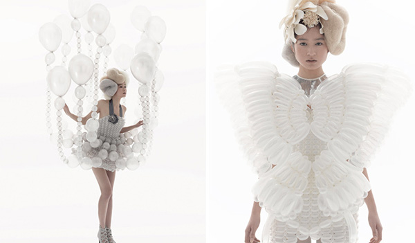 Balloon Dresses by Hosokai and Kawada 9