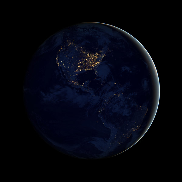 Earth from Space 2012 – NASA Black Marble 2