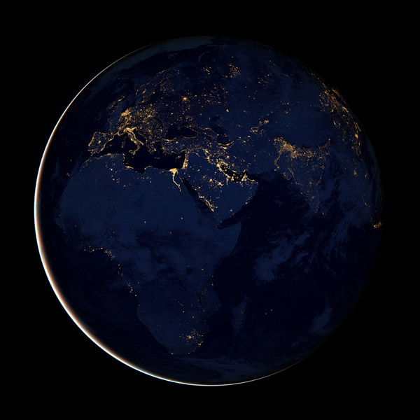 Earth from Space 2012 NASA Black Marble 4 Earth from Space 2012   NASA Black Marble