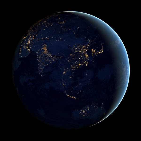 Earth from Space 2012 NASA Black Marble 5 Earth from Space 2012   NASA Black Marble