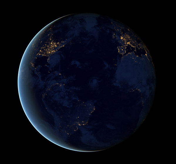 Earth from Space 2012 – NASA Black Marble 6
