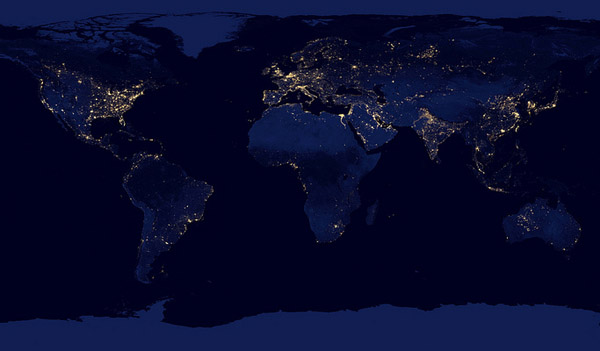 Earth from Space 2012 – NASA Black Marble 7