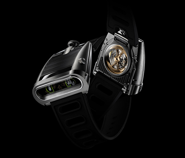 MBF HM5 Timepiece 1 The New MB&F HM5 Timepiece
