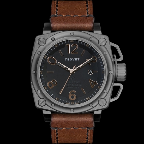 The tsovet svt ax87 automatic eta 2824 luxury watch 1 The Tsovet SVT AX87 Luxury Time Piece