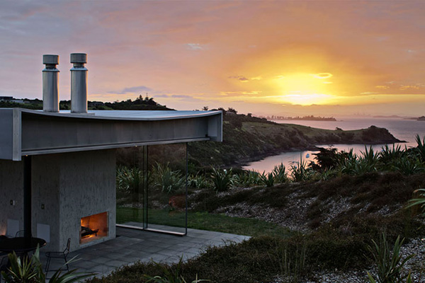 Waiheke Island Retreat Fearon Hay Architects 1 Waiheke Island Retreat