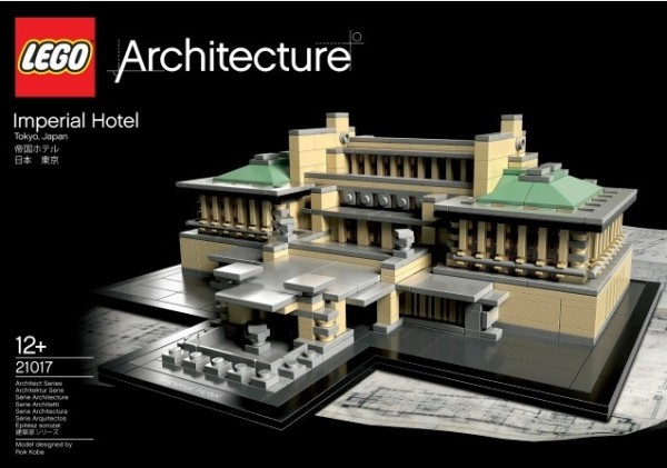 lego architecture landmark series the imperial hotel tokyo japan 1 LEGO Architecture: Tokyo Imperial Hotel