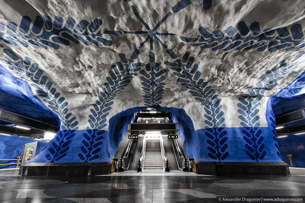 Alexander Dragunov Stockholm Subway Photography 5 Stockholm Subway by Alexander Dragunov