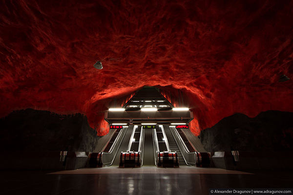 Alexander Dragunov Stockholm Subway Photography 7 Stockholm Subway by Alexander Dragunov