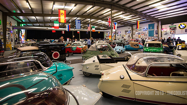 Bruce Weiner Microcar Auction Environment Cars 600 Tiny Cars, Big Moment: the Worlds Largest Microcar Auction