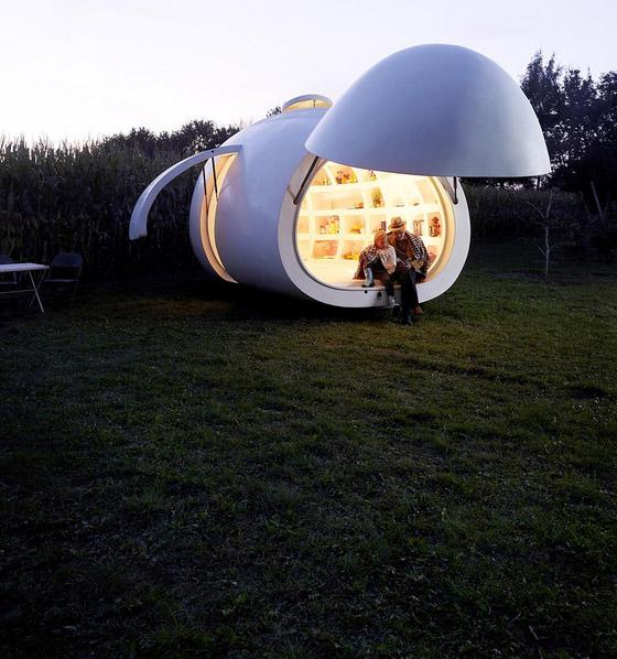 DMVA Architects Blob House 3