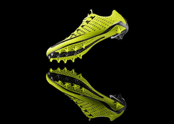 Nike vapor laser talon footbal cleat with 3d printing technology 4