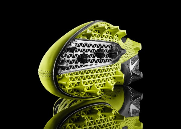 Nike vapor laser talon football cleat with 3d printing technology 3