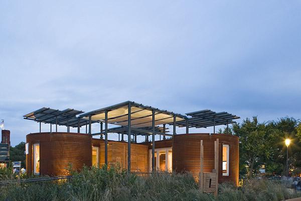 Silo House by Cornell University 1