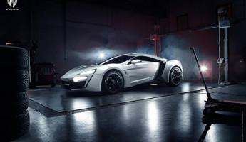 Bugatti Veyron Hypersport w motors lykan hypersport
