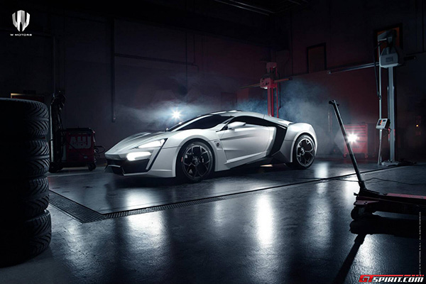 W Motors Lykan Hypersport 1