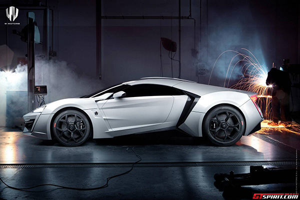 W Motors Lykan Hypersport 7 W Motors Lykan Hypersport