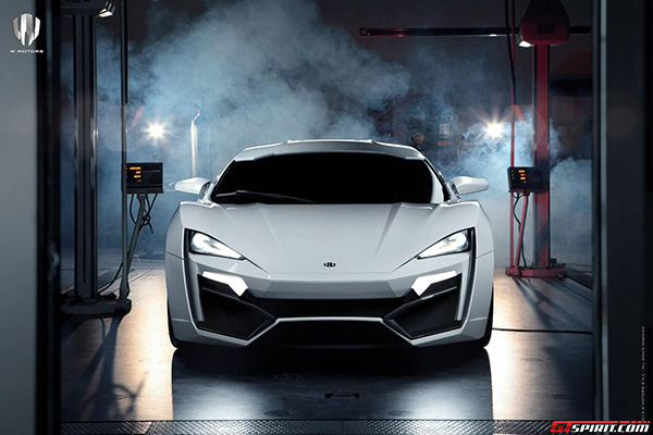 W Motors Lykan Hypersport 8 W Motors Lykan Hypersport