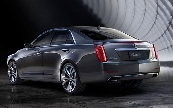 2014 Cadillac CTS 3