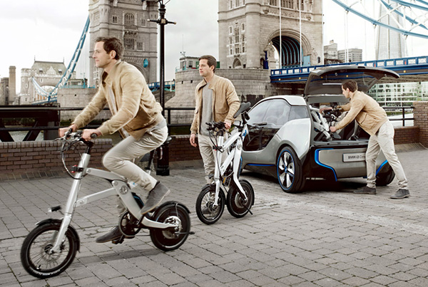 BMW i Pedelec Folding Electric Bike 3