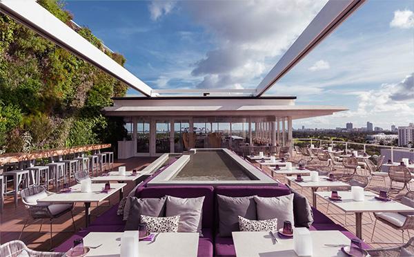 Juvia Penthouse Restaurant - Miami 1