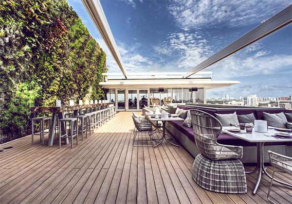 Juvia Penthouse Restaurant - Miami 2