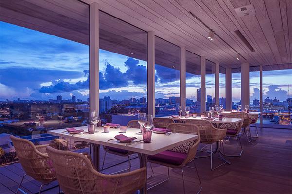 Juvia Penthouse Restaurant - Miami 8