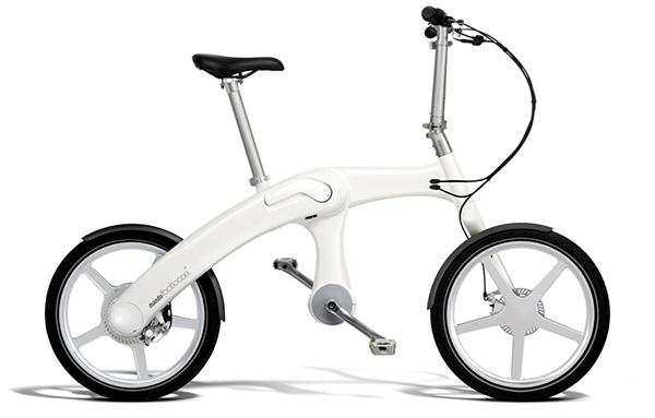 Mando Chainless Folding Electric Bike 1