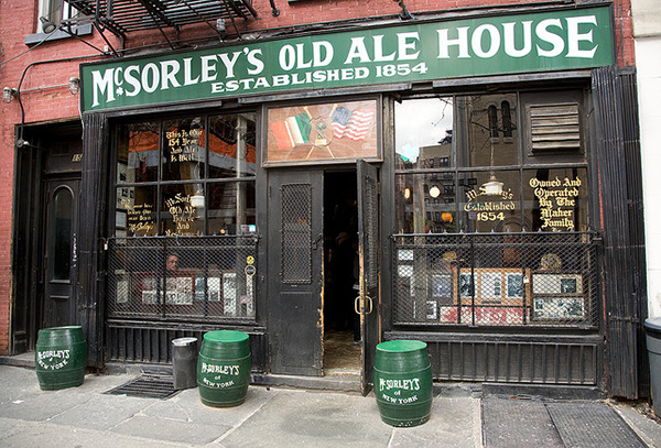 McSorleys Old Ale House NYC 2 – 10 Oldest Bars in the US