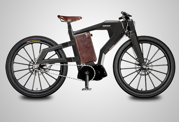 PG Bikes Blacktrail Electric Bike 1
