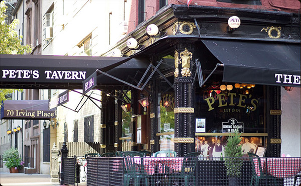 Petes Tavern NYC 3 – 10 Oldest Bars in the US