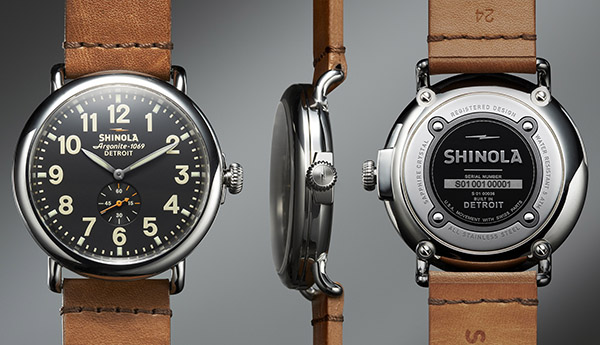 Shinola Runwell Watch – Built in Detroit 1