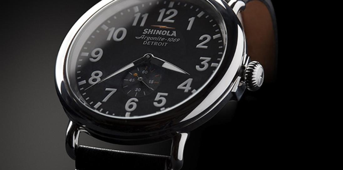 Shinola Runwell Watch – Built in Detroit
