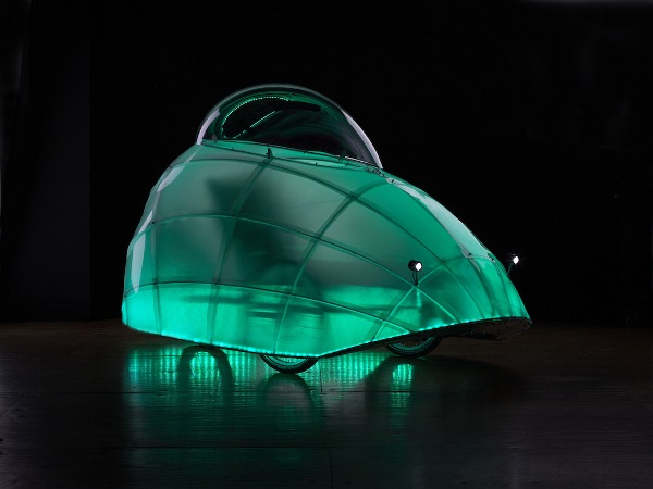 firefly geospace trike all weather illuminated human powered vehicle 3